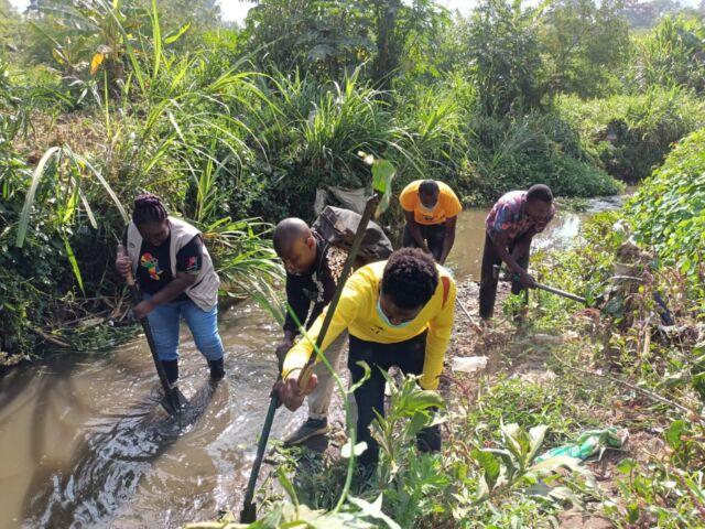 Mbagathi River Cleanup